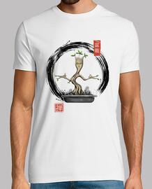 bonsaïs méditation chemise mens