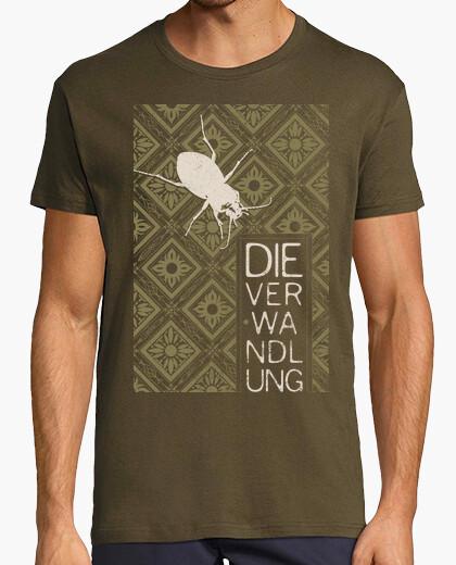 Books collection: kafka, the metamorphos t-shirt