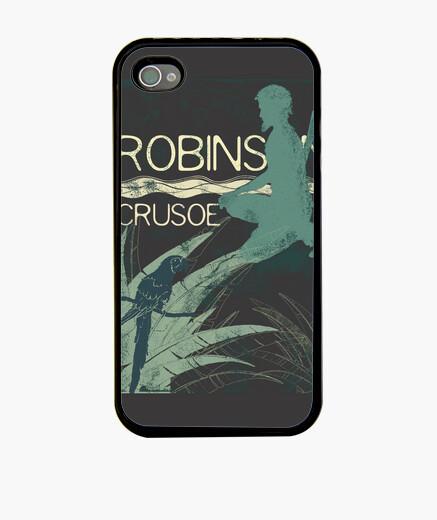 Funda iPhone Books Collection: Robinson Crusoe