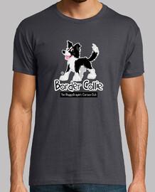 Border Collie Cartoon Club: Black