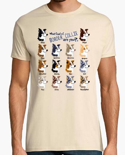 Camiseta Border Collie Colors (H)