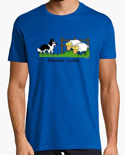 T-shirt border vs pecore