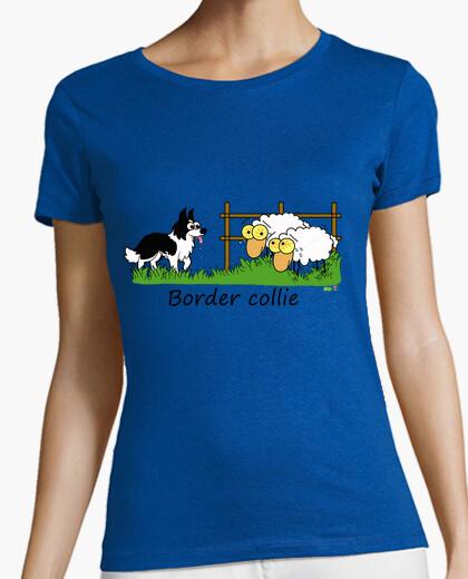 Camiseta border vs sheep