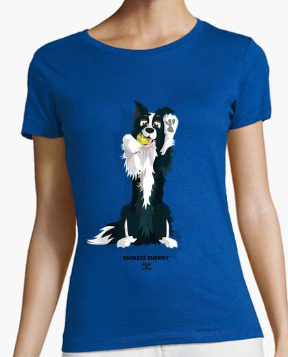 Camiseta Bordercoll - Endless Energy (Chica - 2 CARAS)