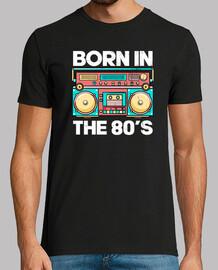 Born in 80s Retro t-shirt
