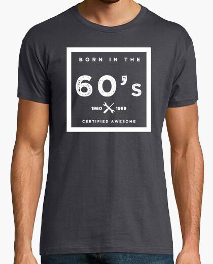 Camiseta Born in the 60s
