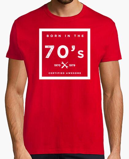 Camiseta Born in the 70s