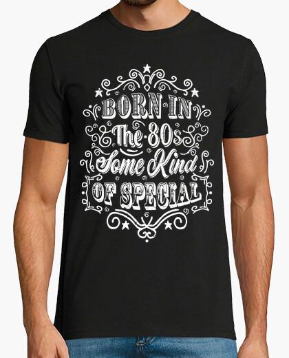 T-shirt born negli anni '80