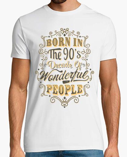 T-shirt born negli anni '90 meravigliose people
