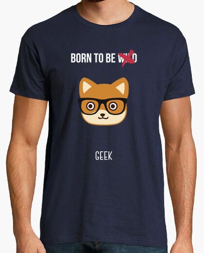 Camiseta Born to be geek