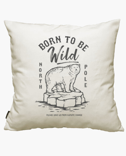 Born to be wild cushion cover