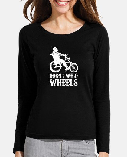 Camisetas Inclusivethings Born to be Wild Wheels