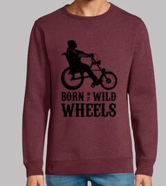Born to be Wild Wheels dibujo negro