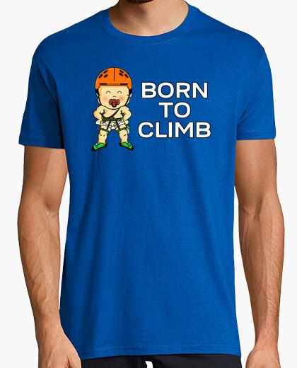 Camiseta Born to climb Hombre