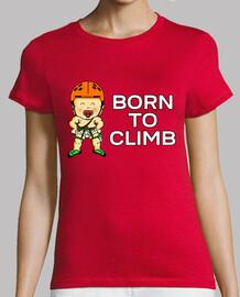 Born to climb Mujer