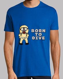 Born to Dive Hombre