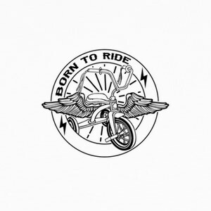 Born to ride black T-shirts