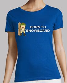 Born to Snowboard Hombre