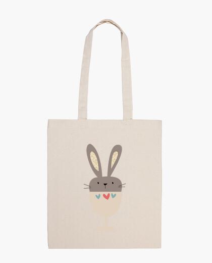 Borsa a tracolla bunny tazza (modello 2)