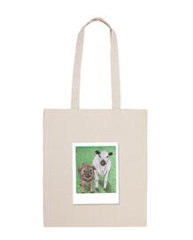 borsa a tracolla per il benessere degli animali