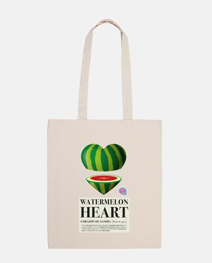 borsa cuore melone