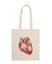 borsa cuore ruby