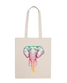 borsa da elefante olografica