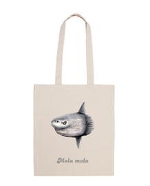 borsa tela sunfish (mola mola)