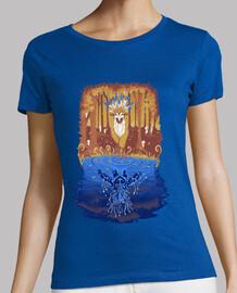bosque camisa espíritu mujer otoño