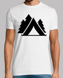 bosque de camping