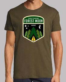 bosque luna de camping