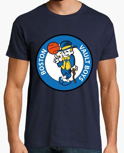 Tee-shirt boston  homme  de la voûte