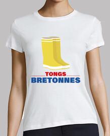 Bottes de pluie caoutchouc - Tongs Bret