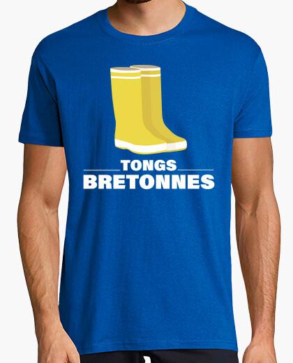 pluie Bottes Bret de Tongs shirt Tee caoutchouc CBQrxedoW