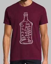 bottiglia di rum. (bianco)