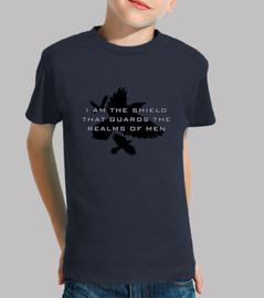 bouclier de la  tee shirt  royaume des enfants
