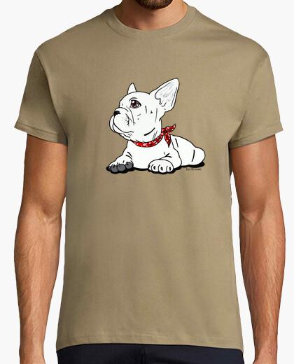 Tee-shirt bouledogue français.
