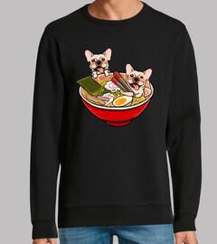 bouledogue français chien ramen