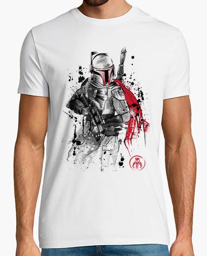 Camiseta Bounty Hunter sumi-e