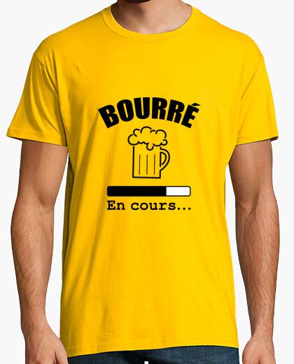 Tee-shirt Bourré   en cours...   Alcool   Fête - 1744813   Tostadora.fr 3e73bee4a29f