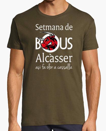 Bous de Alcàsser (Modelo 1) fondo oscuro - Camiseta Ringer