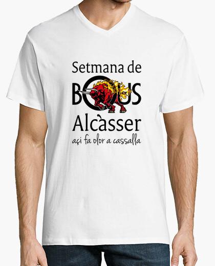 Bous de Alcàsser (Modelo 2) - Camiseta cuello de pico clásico