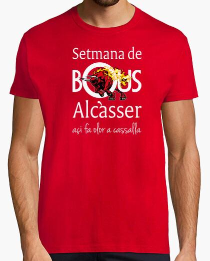 Bous de Alcàsser (Modelo 2) fondo oscuro - Camiseta Ringer