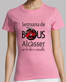 bous di alcàsser (modello 1) - manica corta ragazza t-shirt