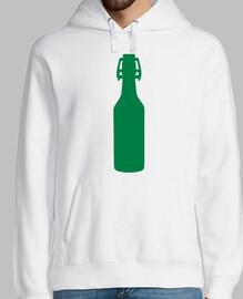 bouteille de bière verte
