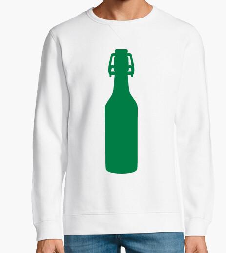 Sweat bouteille de bière verte