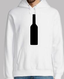 bouteille de vin noir