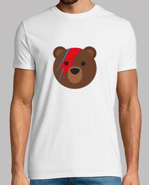 Bowie Bear Camiseta Hombre