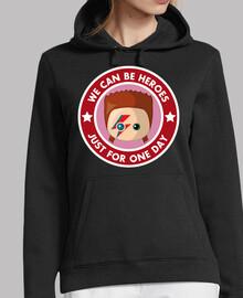 bowie heores femme sweatshirt