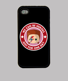 bowie heores funda iphone 4 / 4s